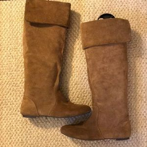Gianni BinI Suede Boots - Size 7.5